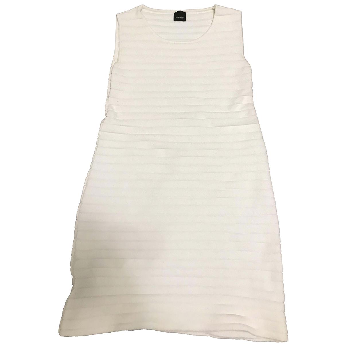 Pinko \N Kleid in  Weiss Frottee