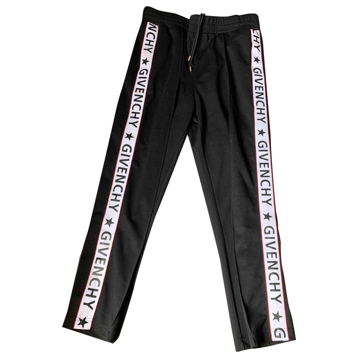 Givenchy \N Black Cotton Trousers for Women XL International