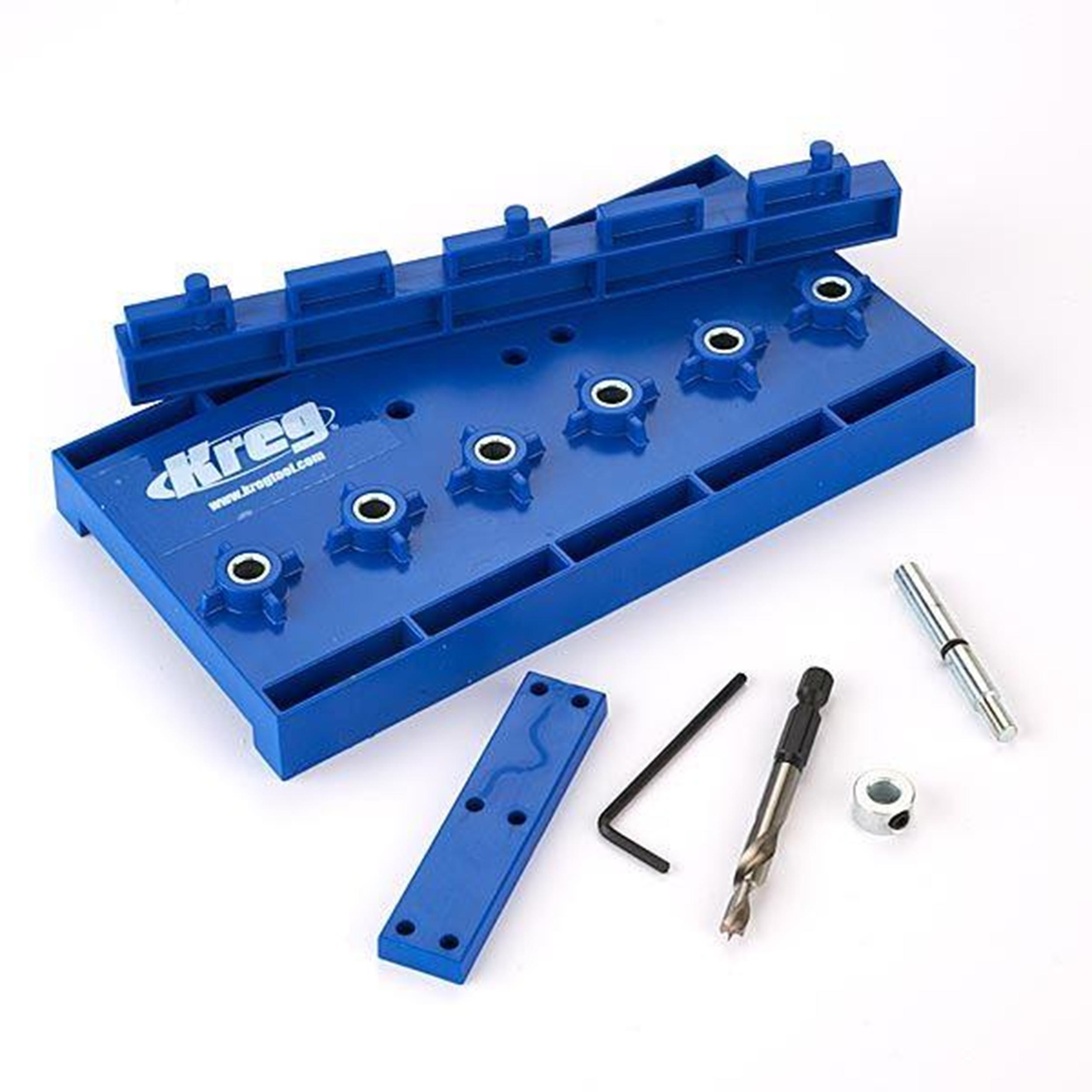32mm Spacing Shelf Pin Jig With 5mm Drill Bit