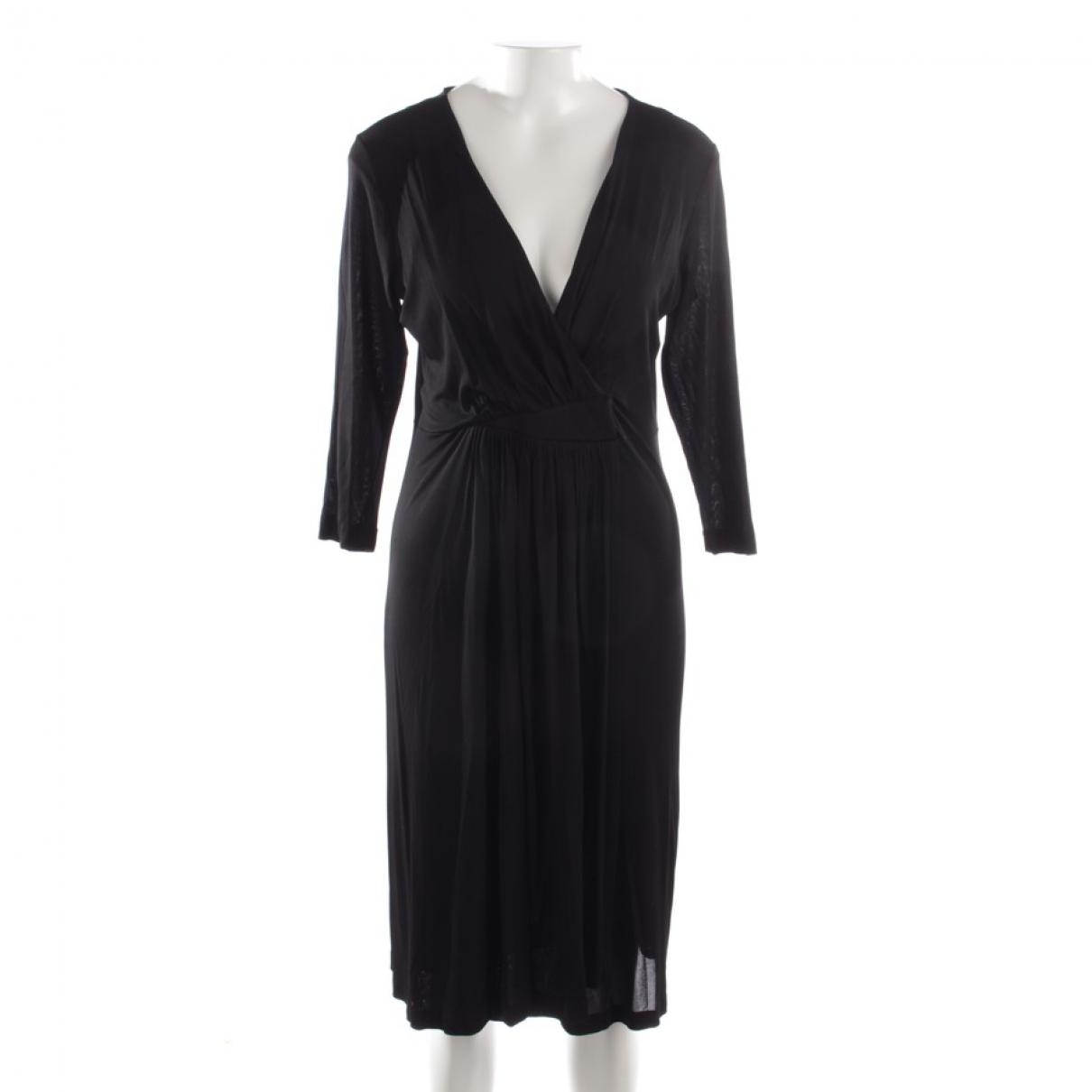 Etro \N Kleid in  Schwarz Synthetik