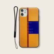 iPhone Schutzhuelle mit Farbblock