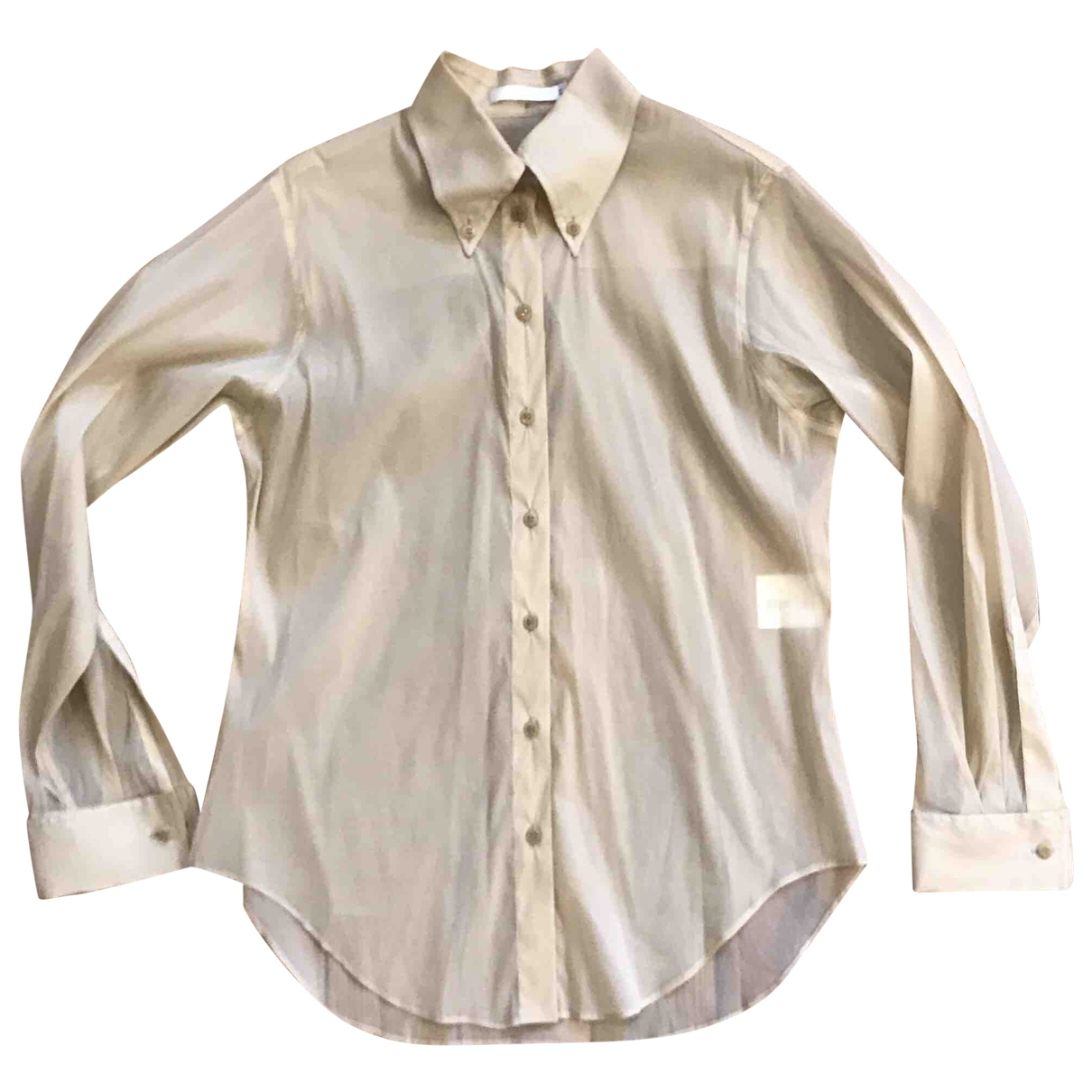Givenchy \N Beige Silk  top for Women 40 FR