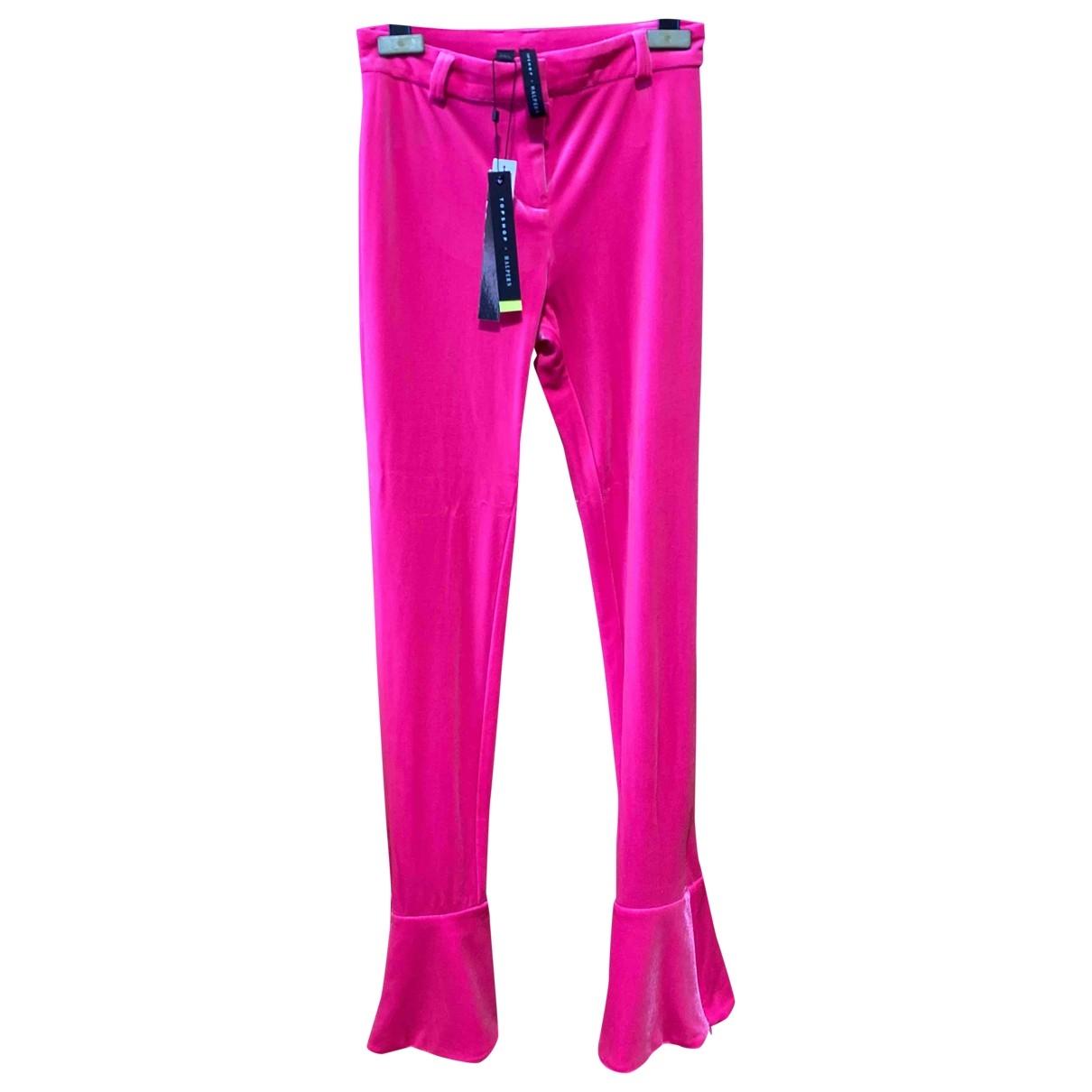 Halpern \N Pink Trousers for Women 4 UK
