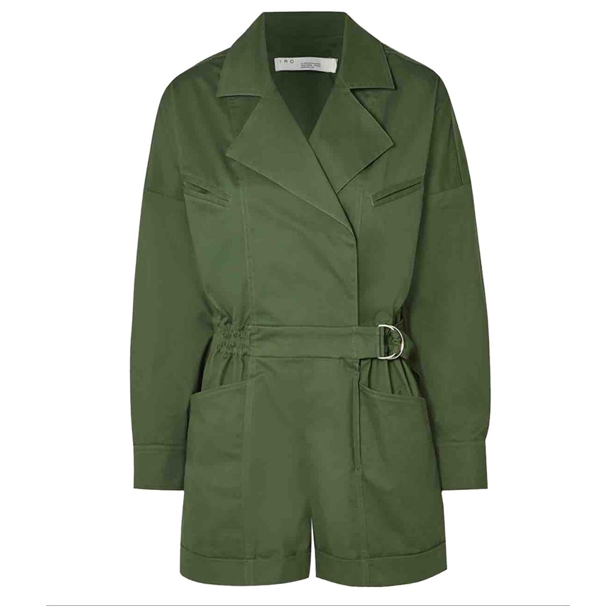 Iro - Combinaison Fall Winter 2019 pour femme en coton - vert
