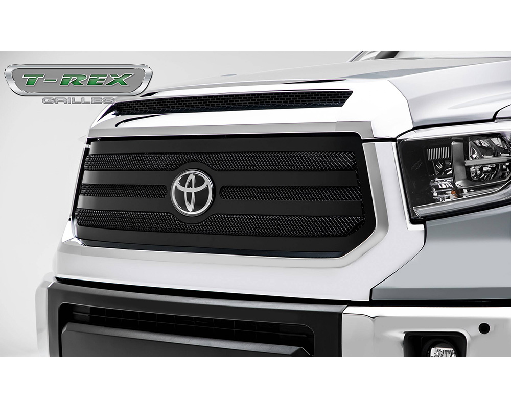 2018-2019 Tundra Upper Class Grille, Black, 1 Pc, Replacement - PN #51966