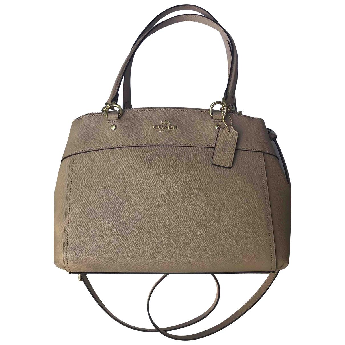Coach \N Pink Leather handbag for Women \N
