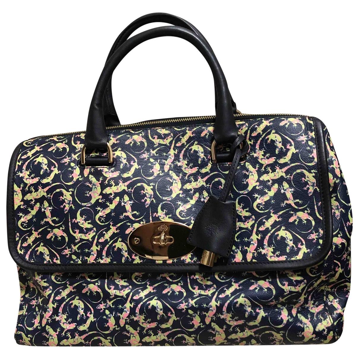 Mulberry \N Handtasche in  Bunt Leder