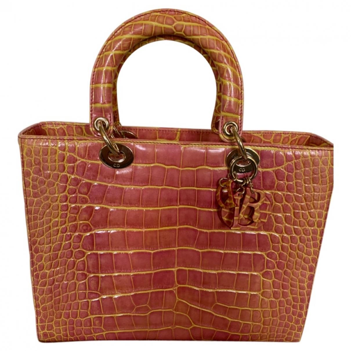 Bolso  Lady Dior de Aligator Dior