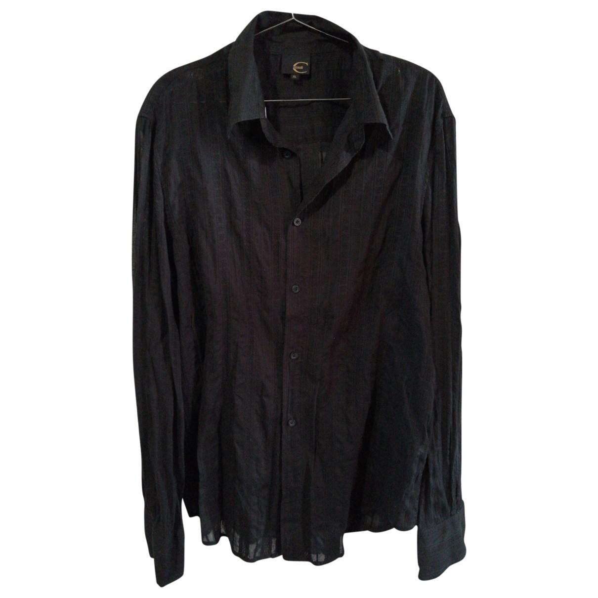 Just Cavalli \N Black Shirts for Men XL International