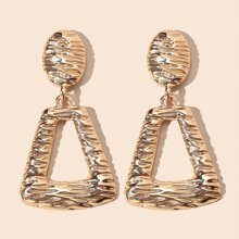 Hollow Out Geometric Drop Earrings