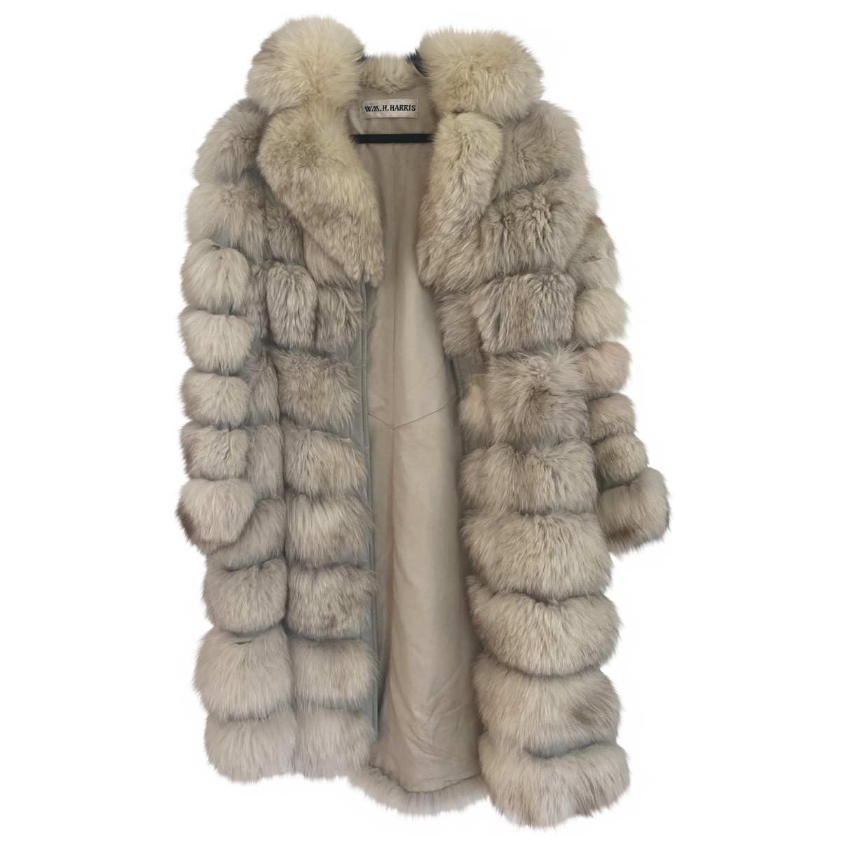 Non Signé / Unsigned \N White Fox coat for Women S International