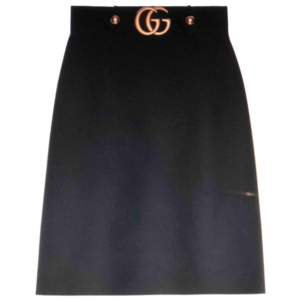 Falda midi de Lana Gucci