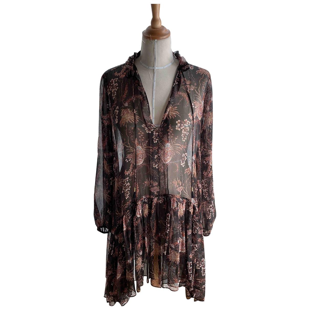 Magali Pascal \N Kleid in  Braun Viskose