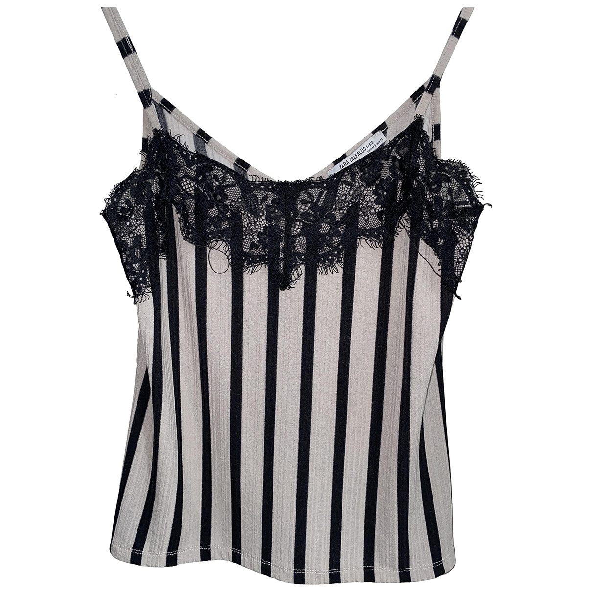 Zara \N Black Lace  top for Women S International