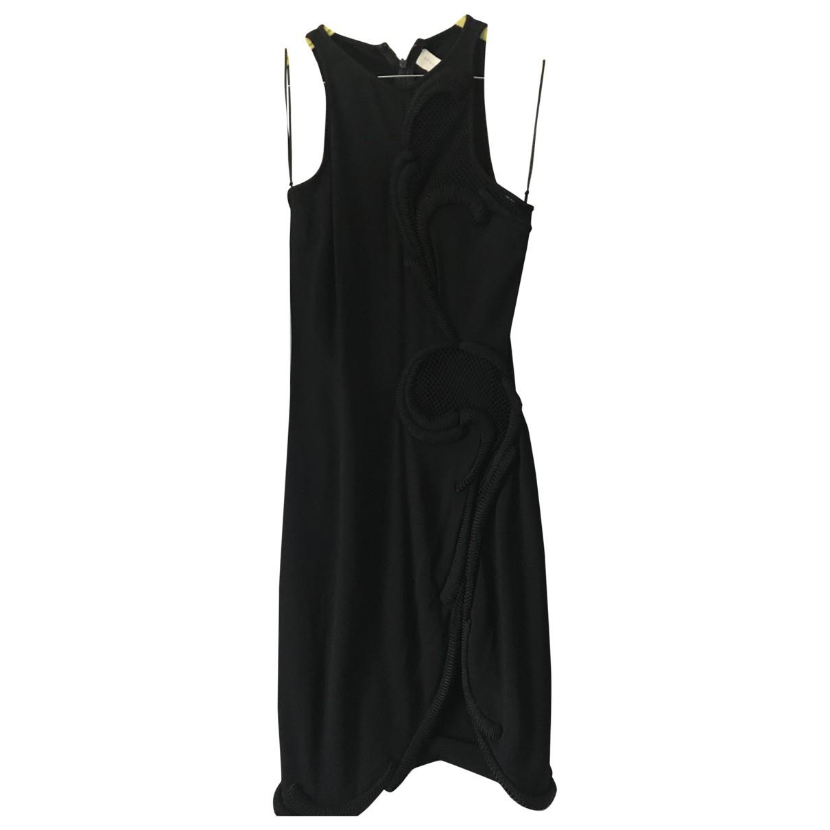 Stella Mccartney \N Kleid in  Schwarz Viskose