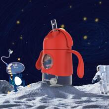 Kinder Tritanflasche mit Karikatur Grafik