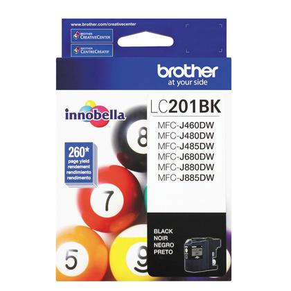 Brother LC201BK cartouche d'encre noire