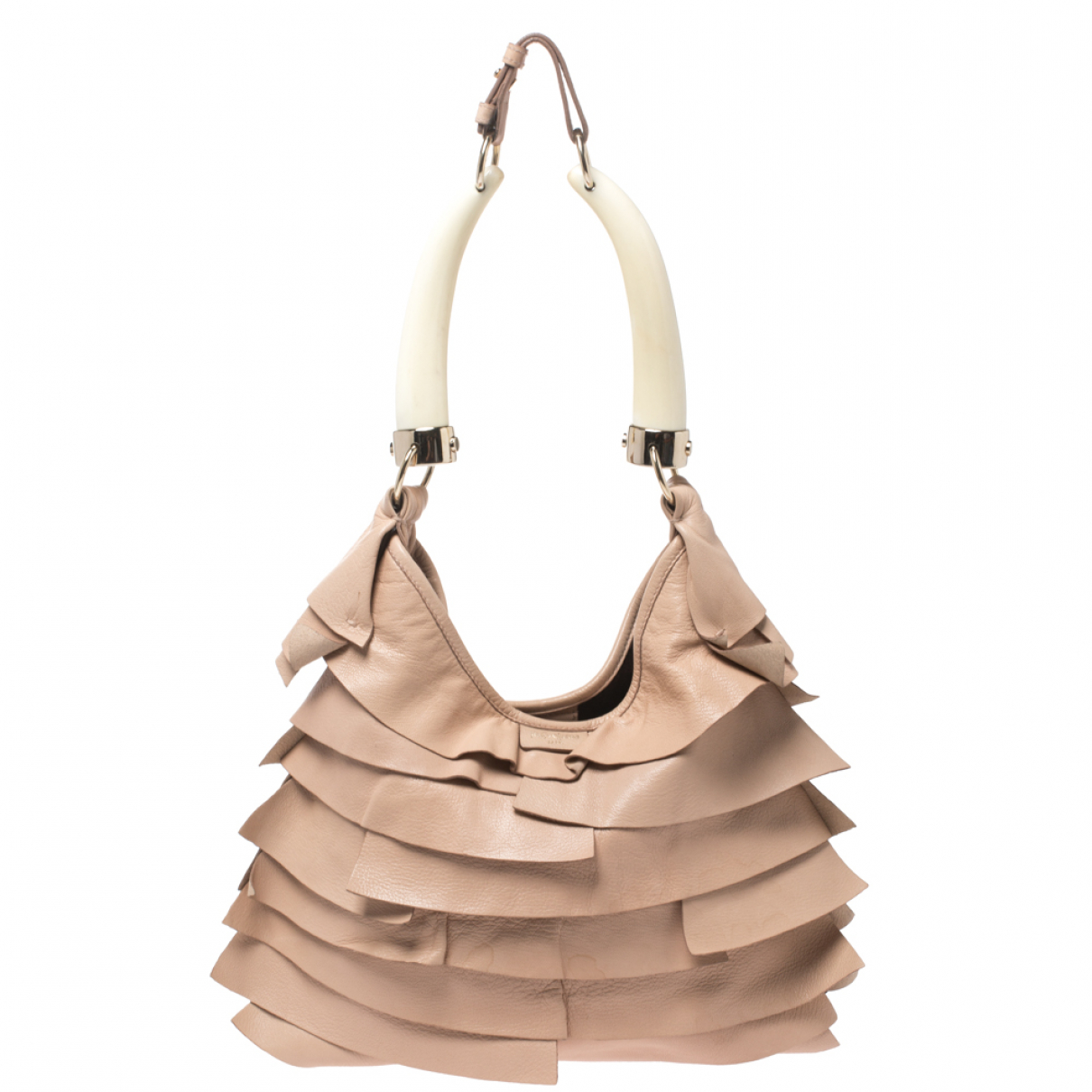 Saint Laurent \N Beige Leather handbag for Women \N