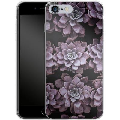 Apple iPhone 6s Plus Silikon Handyhuelle - Purple Succulents von caseable Designs