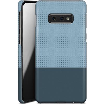 Samsung Galaxy S10e Smartphone Huelle - Dot Grid Blue von caseable Designs