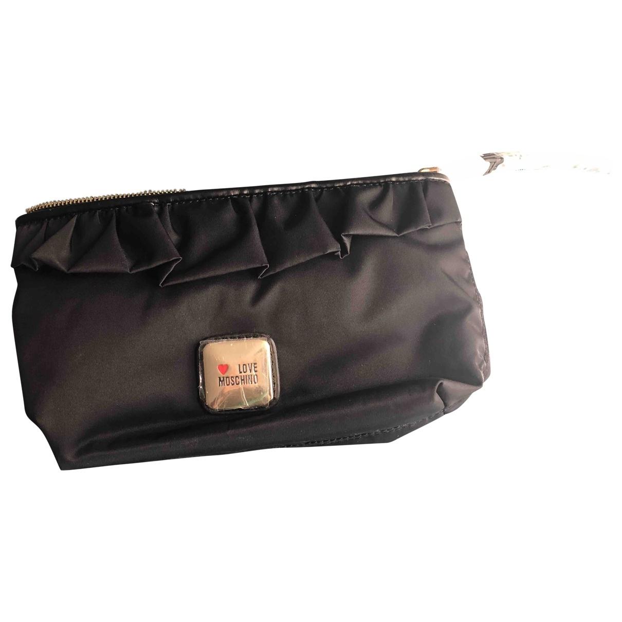 Moschino Love \N Black Clutch bag for Women \N