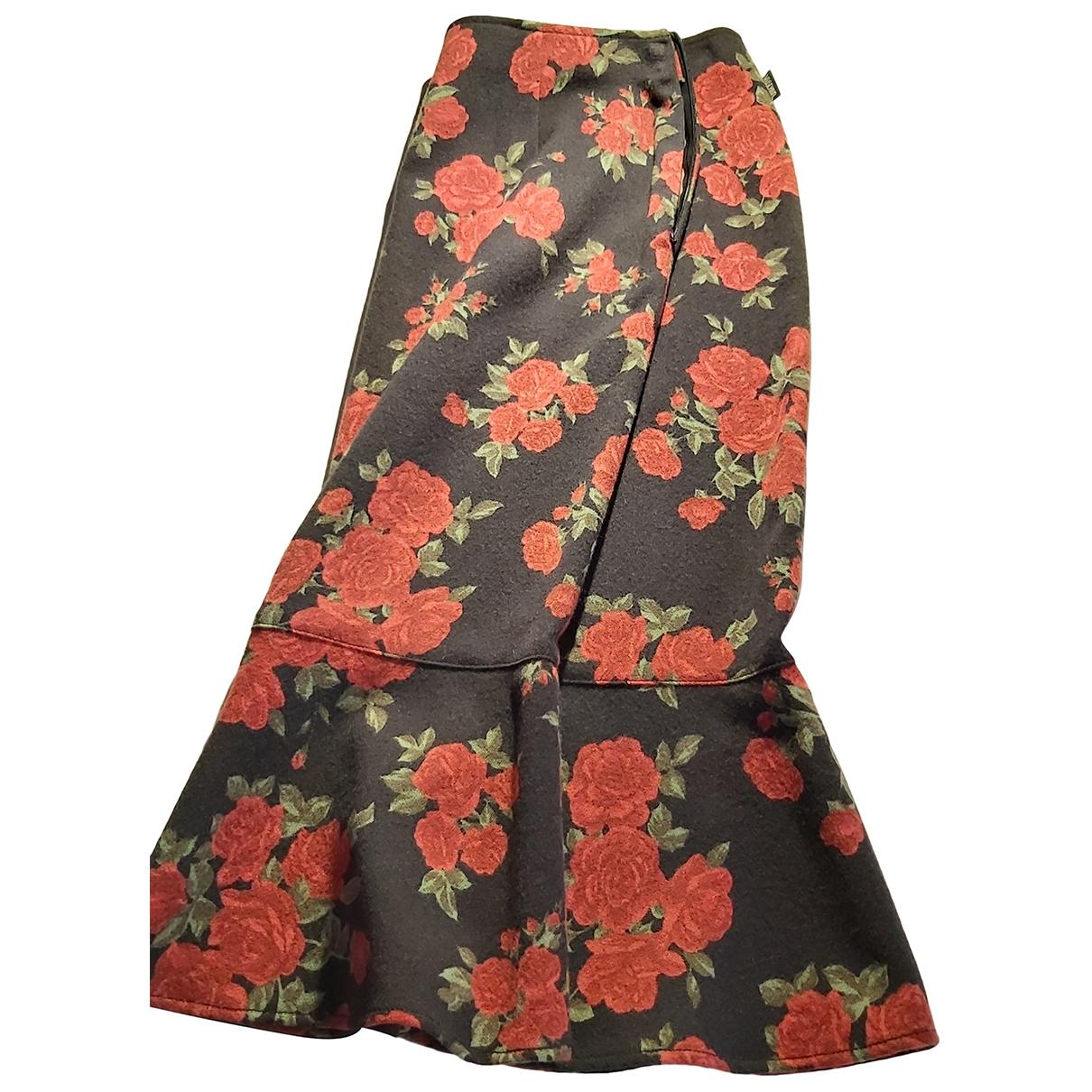 Moschino \N Black Wool skirt for Women 44 IT