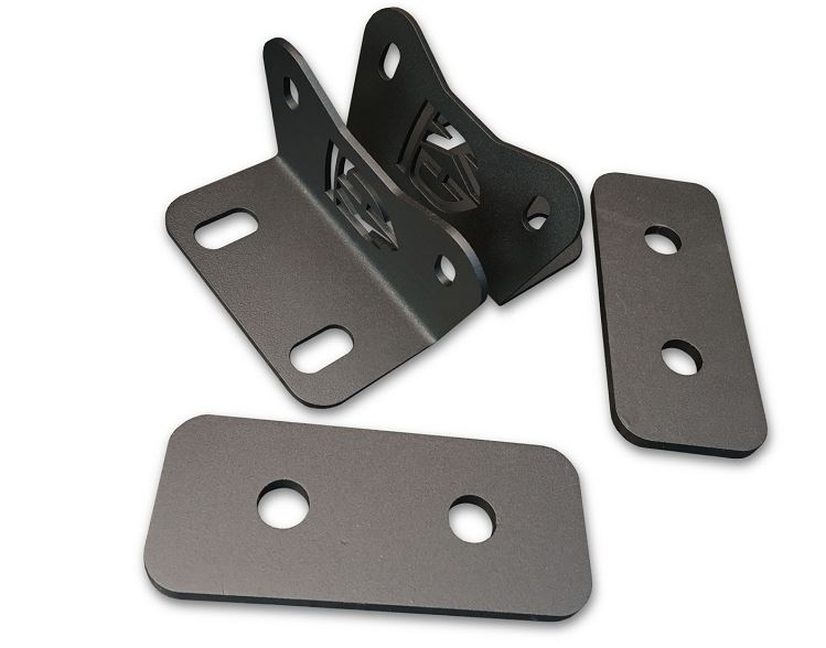 KD Fabworks TR-0022 Bumper Brackets for DUAL curved 40