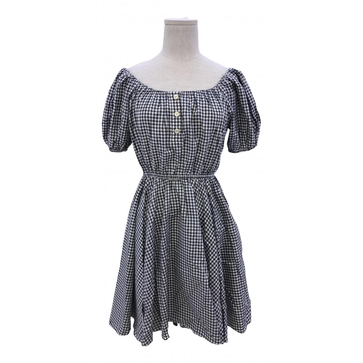 Caroline Constas - Robe   pour femme en coton - noir