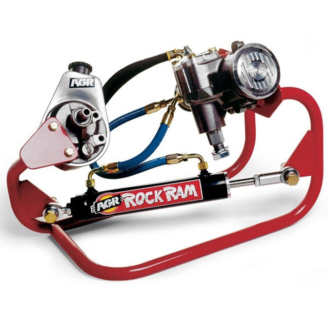 Rock Ram Steering System W/ZF Type PS Pump 03-07 Dodge 5.9L Cummins 3/4 - 1 Ton 4WD AGR Steering 318678K65