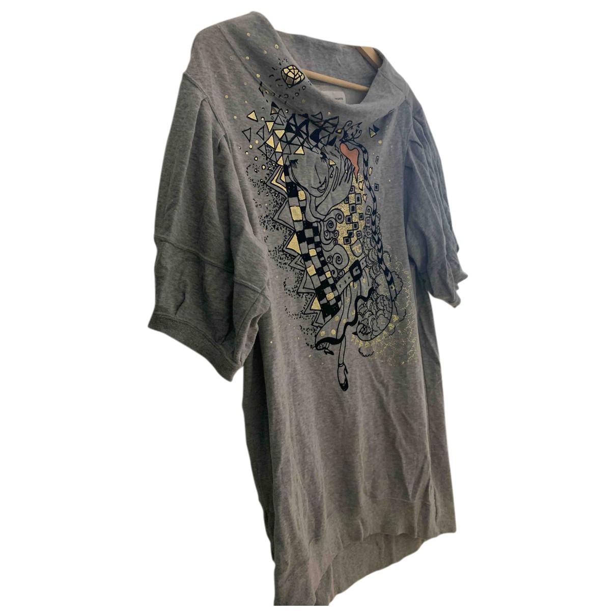 Tsumori Chisato N Grey Cotton dress for Women 3 0-5