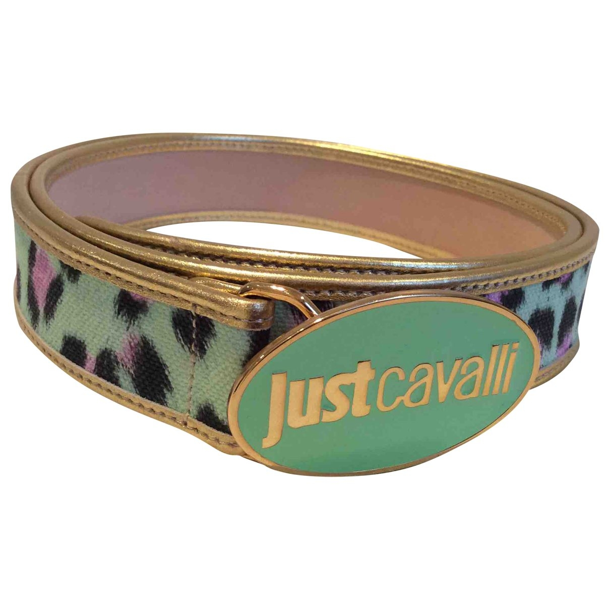 Just Cavalli \N Leather belt for Women 95 cm