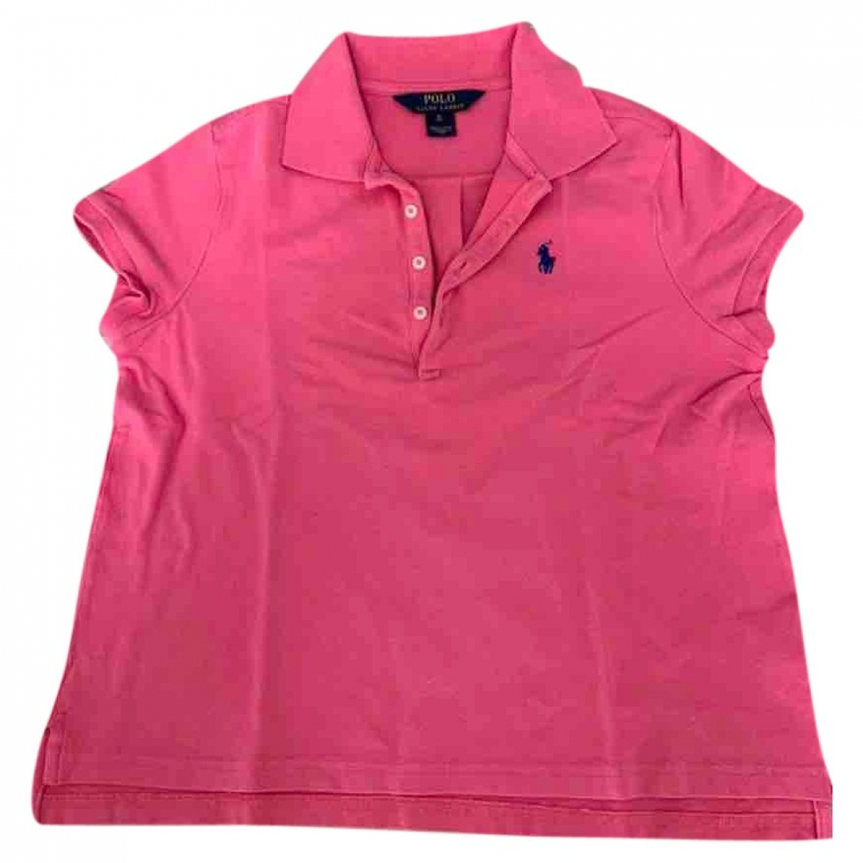 Polo Ralph Lauren \N Pink Cotton  top for Kids 16 years - M FR