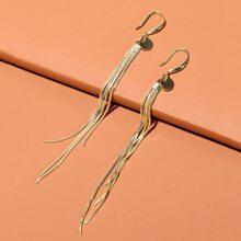 Tassel Long Drop Earrings