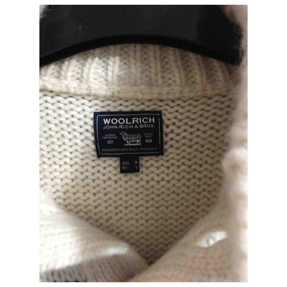 Woolrich - Pulls.Gilets.Sweats   pour homme en laine - beige