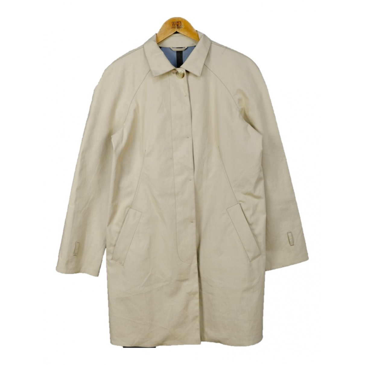 Prada - Manteau   pour homme en coton - marron