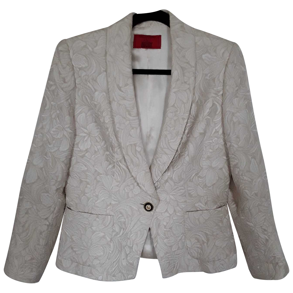 Valentino Garavani - Veste   pour femme en soie - ecru
