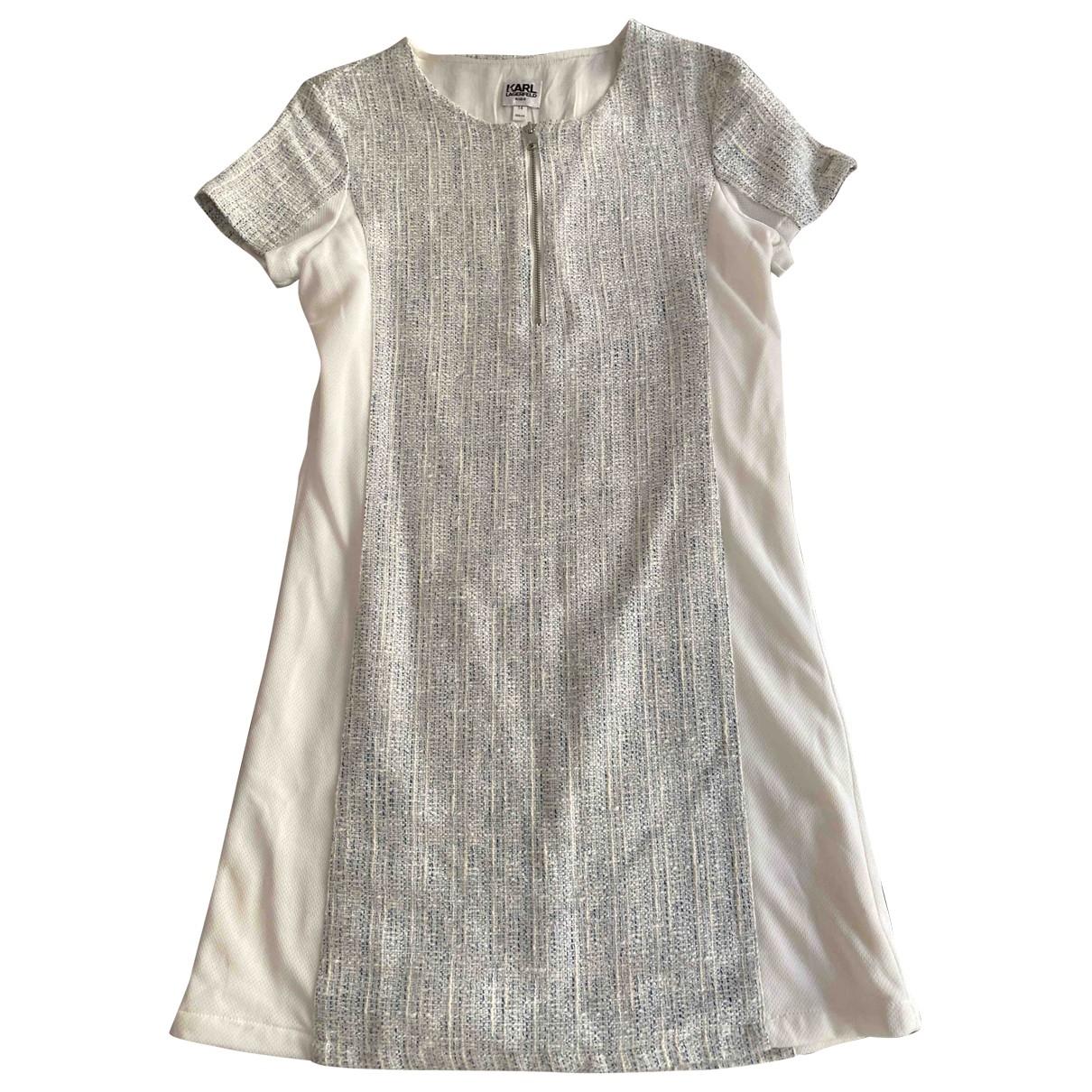 Karl Lagerfeld \N Blue Cotton dress for Kids 14 years - S FR