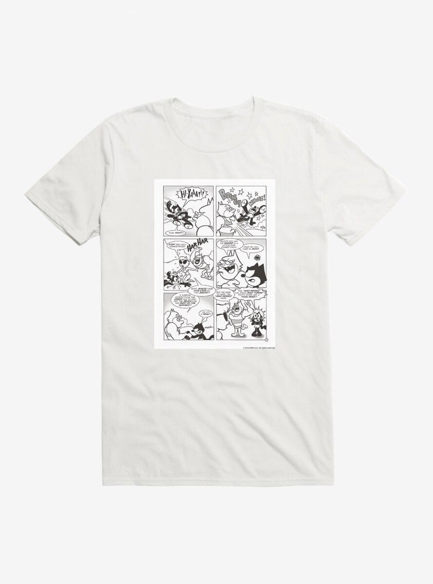 Felix The Cat Comic Strip T-Shirt