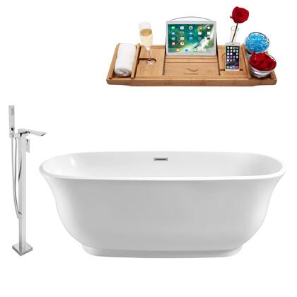 NH660-140 Faucet and Tub Set with 59