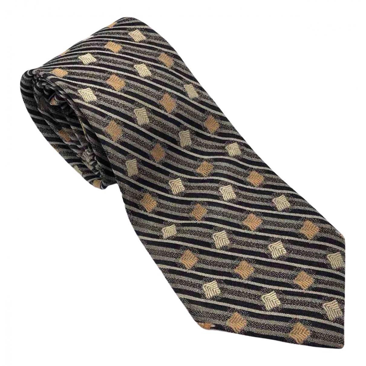 Coach \N Krawatten in  Bunt Seide