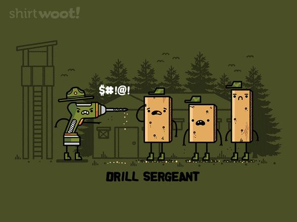 Drill Sergeant T Shirt