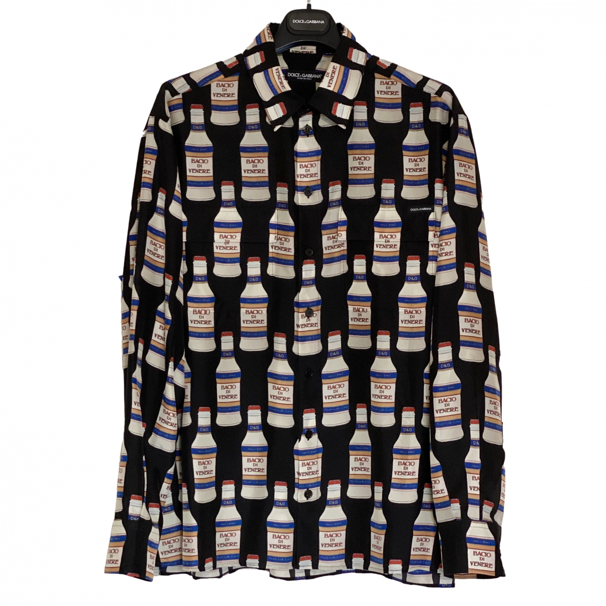 Dolce & Gabbana - Chemises   pour homme en soie - noir