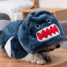 Shark Design Dog Jumpsuit