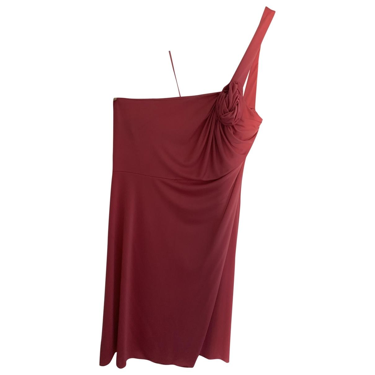 Yves Saint Laurent \N Kleid in  Rosa Polyester