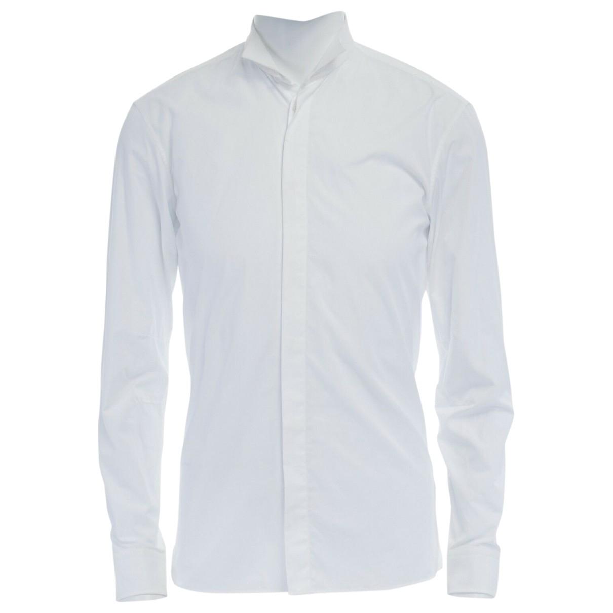 Balmain \N Hemden in  Weiss Baumwolle