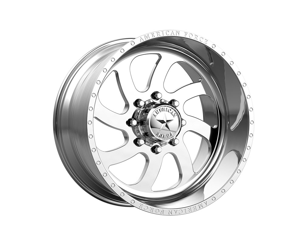 American Force AFTE76LD22-1-21 AFW 76 Blade SS Wheel 20x12 8x8x165.1 -40mm Polished