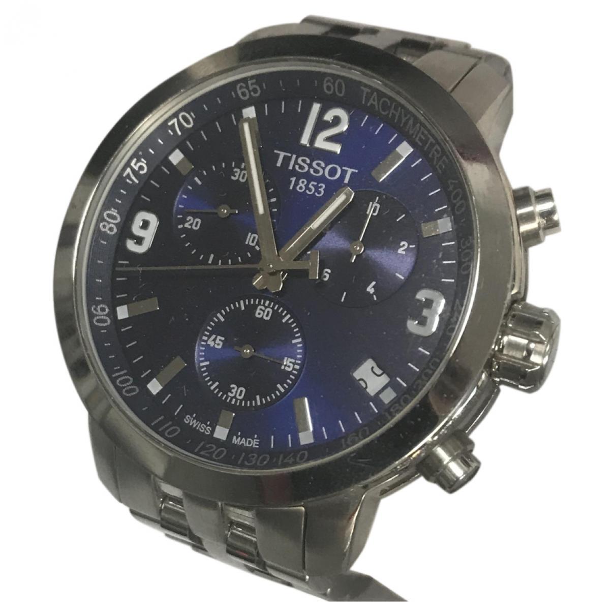 Tissot \N Blue Steel watch for Men \N