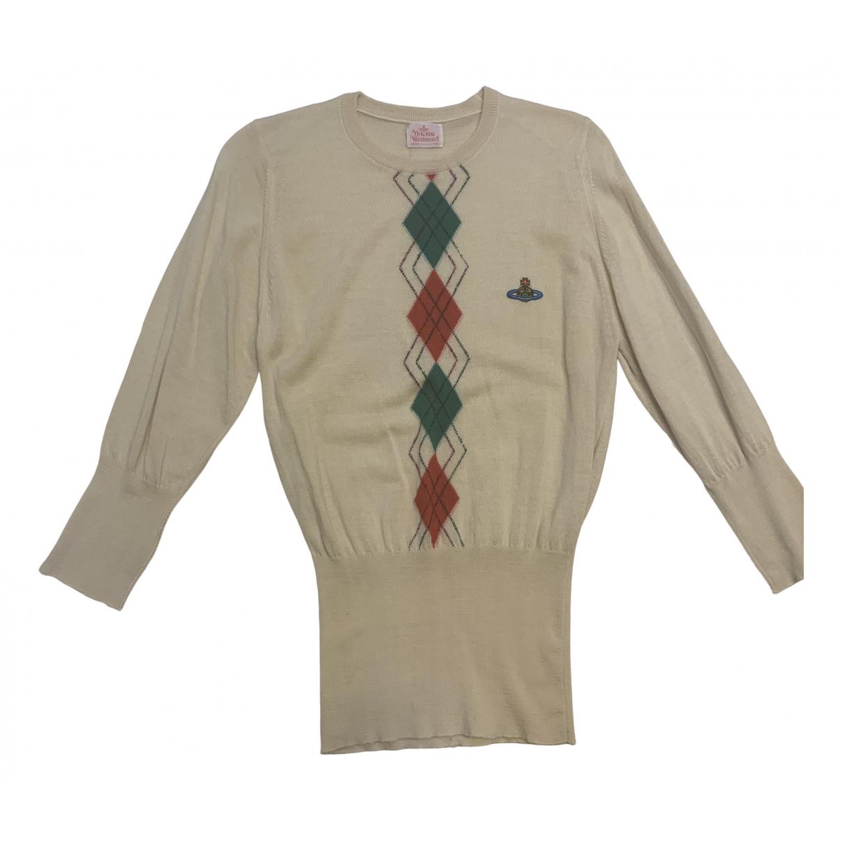 Vivienne Westwood - Pull   pour femme en laine - beige