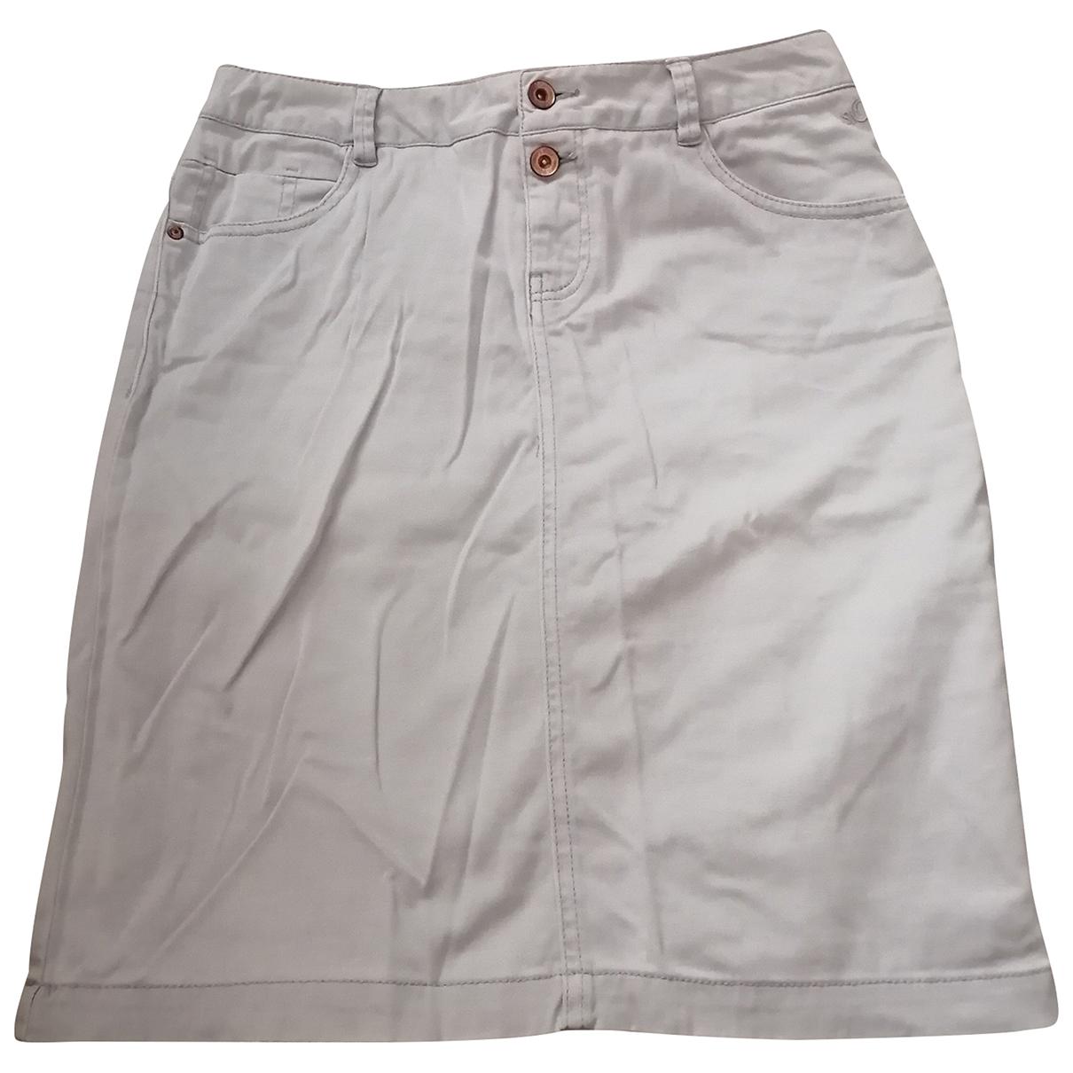 S Oliver - Jupe   pour femme en coton - gris