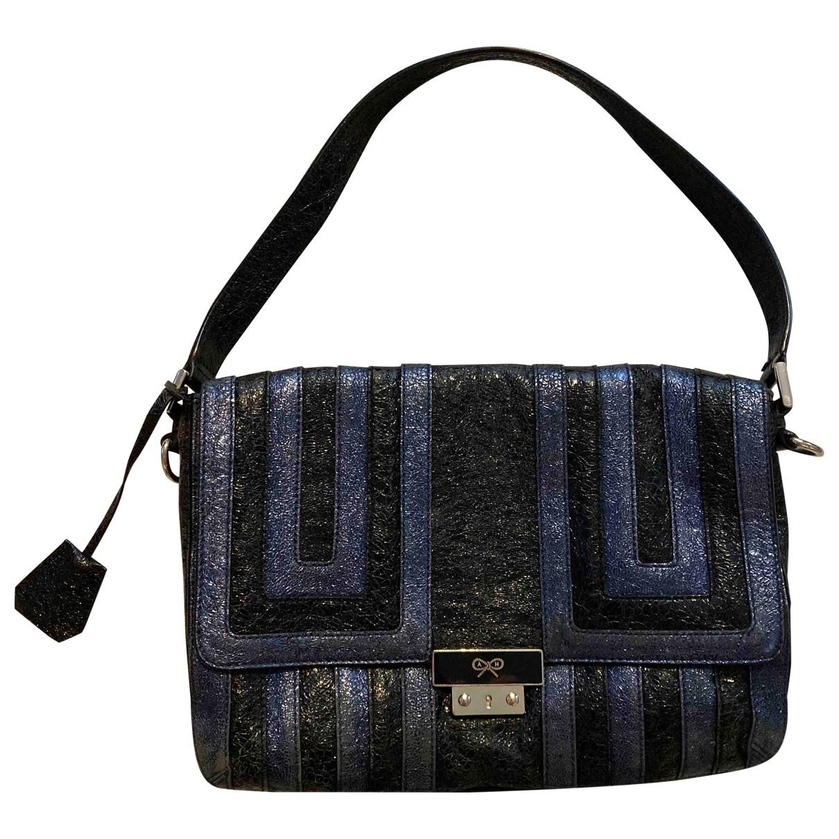 Anya Hindmarch \N Black Patent leather handbag for Women \N
